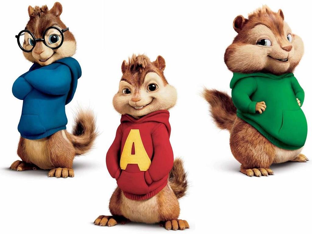 Alvin, Theodore e Simon.. Mi ricordo ancora il cartone animato che spesso vedevo da piccola e mi piaceva un sacco, ...