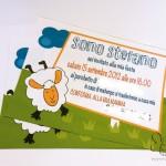 Invito compleanno pecorella: freebies scaricabile