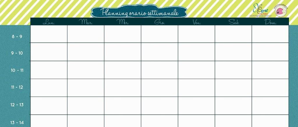 Calendario 2017 settimanale da stampare vb08 pineglen - Planning settimanale da tavolo ...
