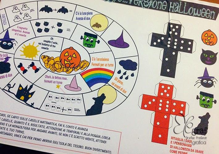 Il gioco dell 39 oca magnetico versione halloween elegraf for Gioco dell oca da stampare e colorare