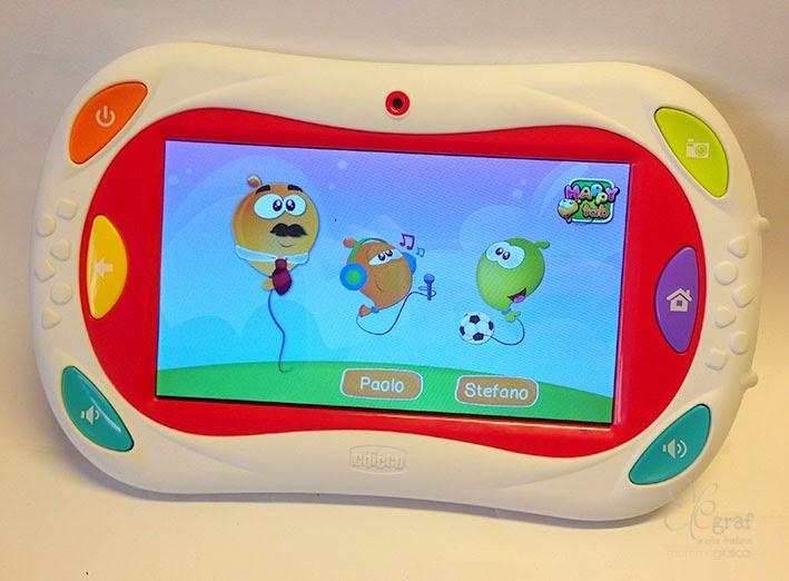 Chicco happy tab tablet a misura di bambino elegraf for Happy tab chicco microfono