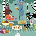 Un picnic mozzafiato, un'app per la vita