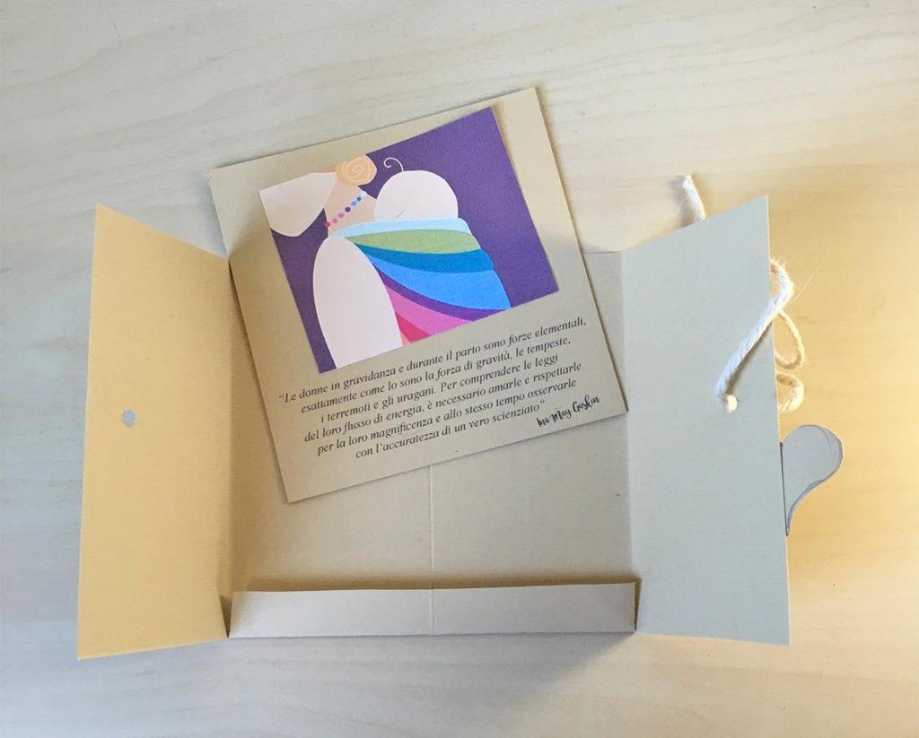 Bien-aimé Biglietto di auguri per la gravidanza | Elegraf Grafica Freelance XR97