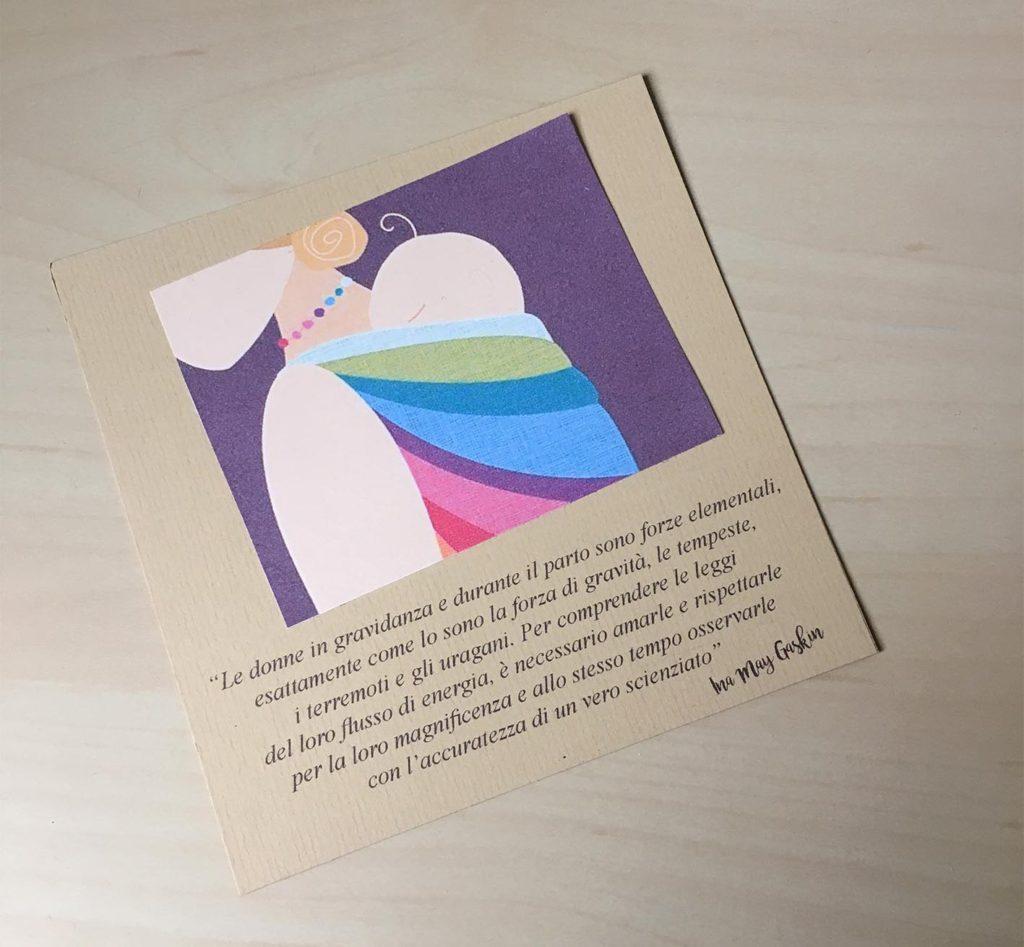 biglietto auguri gravidanza