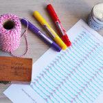 Settembre, nuovi inizi e Etichette Adesive Scuola