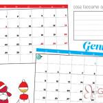 Calendario scolastico edizione di Natale