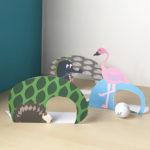 Il MiniGolf da balcone con gli animali