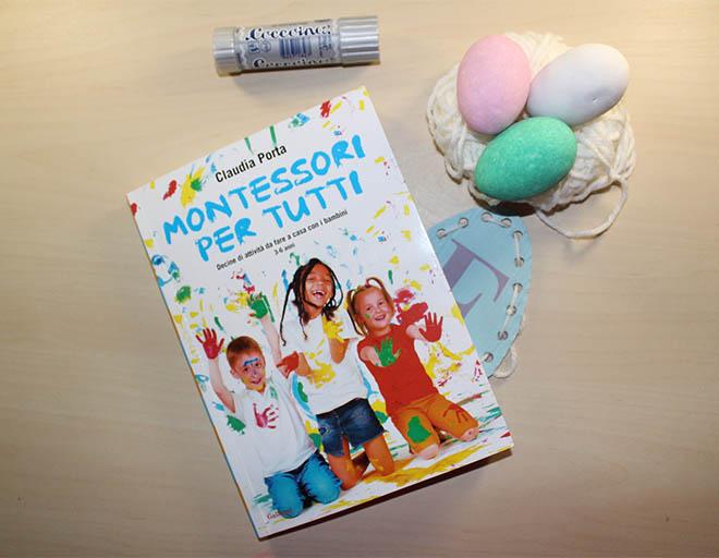 Uova da cucire e montessori per tutti di claudia porta - Porta libri montessori ...