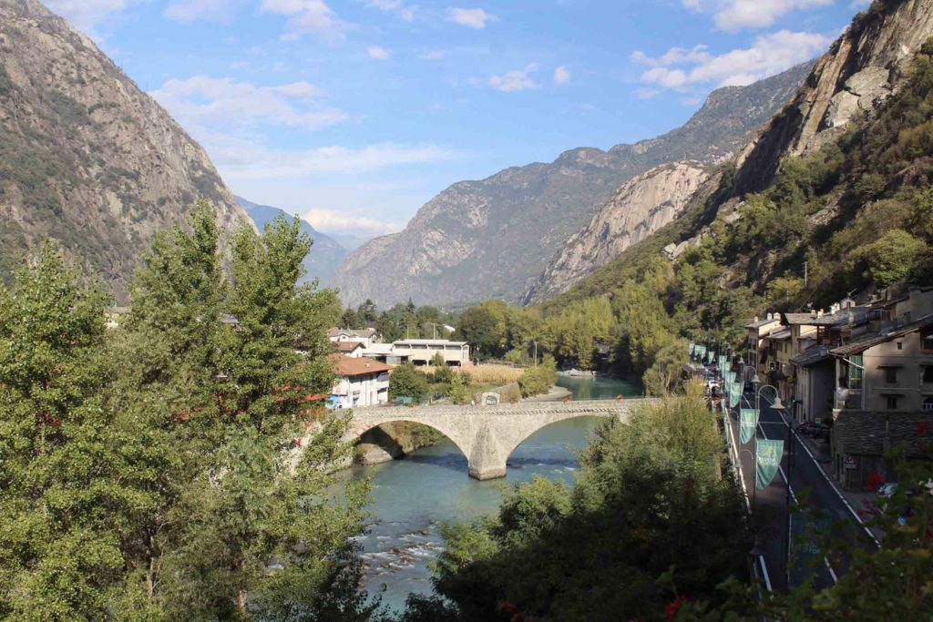 Aosta e Forte di Bard